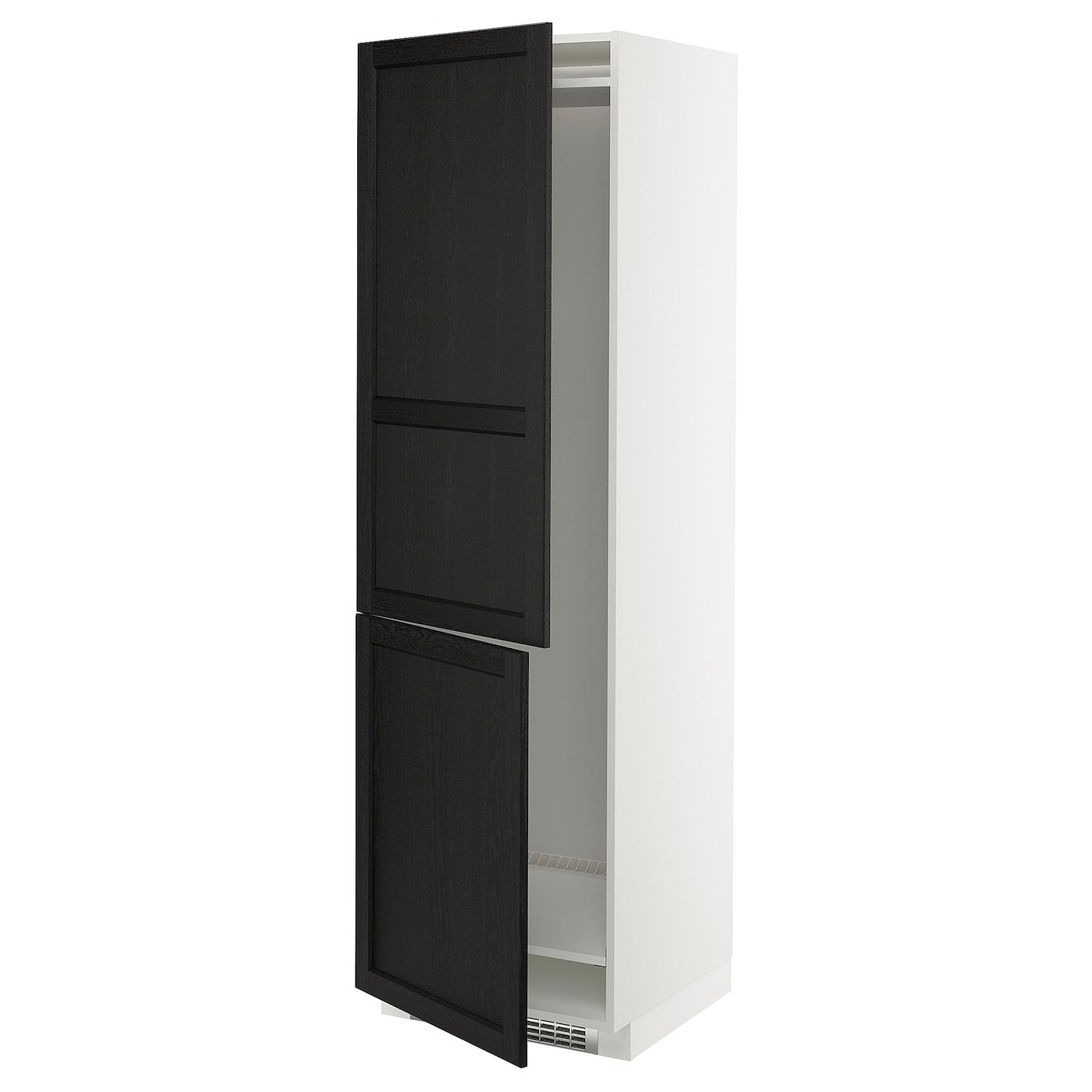 METOD Mobile frigo o congelatore/2 ante, bianco, Lerhyttan ...