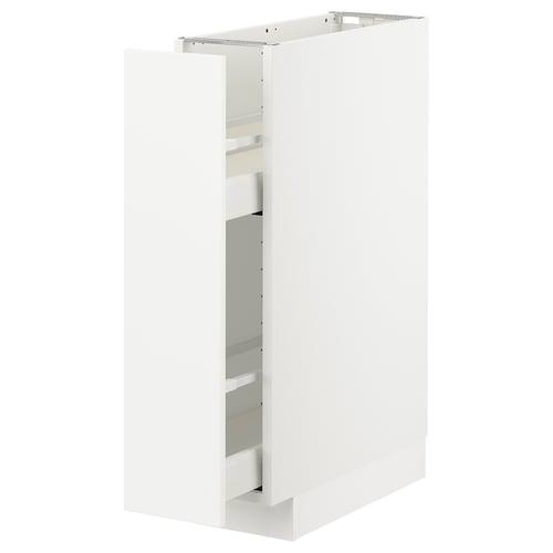 IKEA METOD / MAXIMERA Mobile base e accessori estraibili