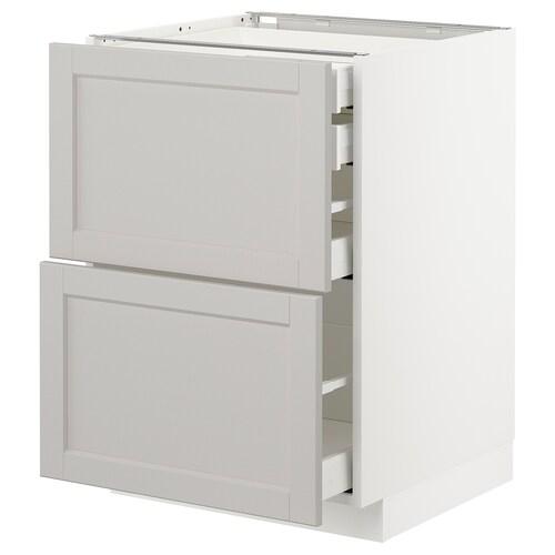 IKEA METOD / MAXIMERA Mob 2front/2casset bass/1med/1alt