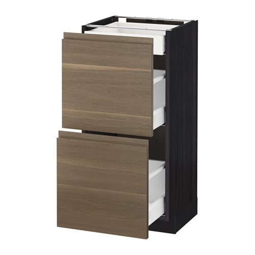 metod maximera mobile base 2frontali 3cassetti 40x37 cm ikea. Black Bedroom Furniture Sets. Home Design Ideas