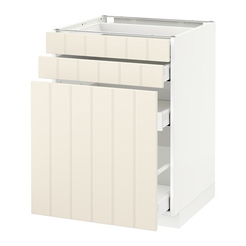 Metod maximera mobile cestelli dispensa 2 frontali bianco hittarp bianco sporco 60x60 cm - Ikea mobile dispensa ...
