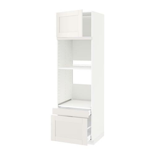 Metod maximera mobile forno forno combi cass 2cass bianco s vedal bianco 60x60x200 cm ikea - Mobile da incasso forno ikea ...