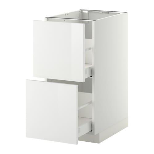 Metod maximera mobile 2 frontali 2 cassetti alti - Ikea cassettiere cucina ...