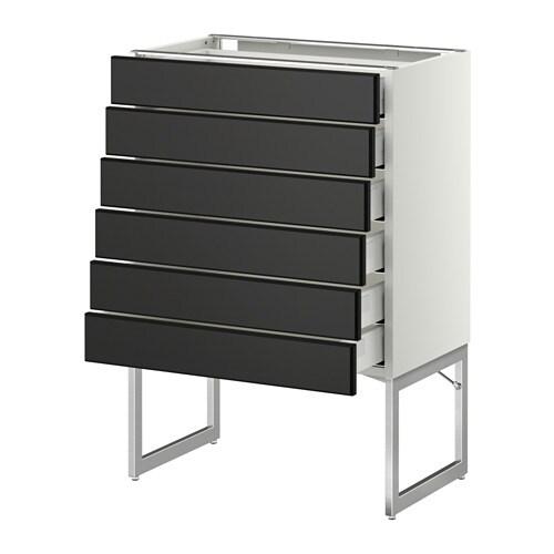 METOD / MAXIMERA Mobile 6 frontali/6 cassetti bassi IKEA Lanta si ...