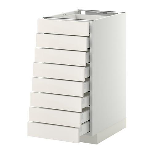 Ikea Patrull Reflective Vest ~ METOD MAXIMERA Mobile 8frontali 8cassetti bassi IKEA L'anta si chiude