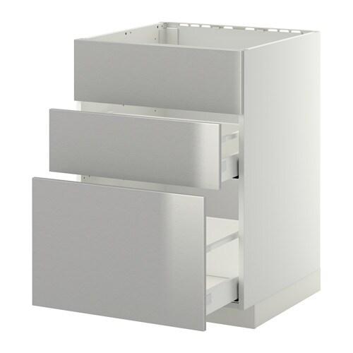 Metod maximera mobile lavello 3frontali 2cassetti - Ikea mobile lavello ...