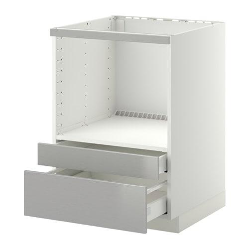 Mobile Soggiorno Bianco Ikea : Metod maximera mobile per microonde combi cassetti ikea