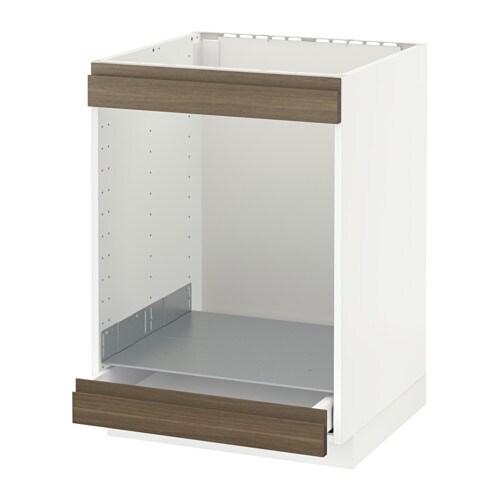 METOD / MAXIMERA Mobile piano cottura+forno/cassetto - bianco ...