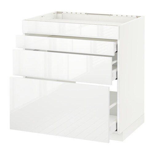 Metod maximera mobile piano cottura 4front 3cass ikea - Piano cottura induzione ikea ...