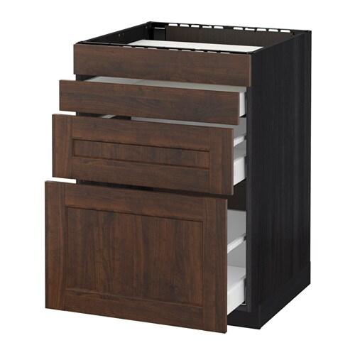 Metod maximera mobile piano cottura 4front 3cass - Trattare piano legno ikea ...