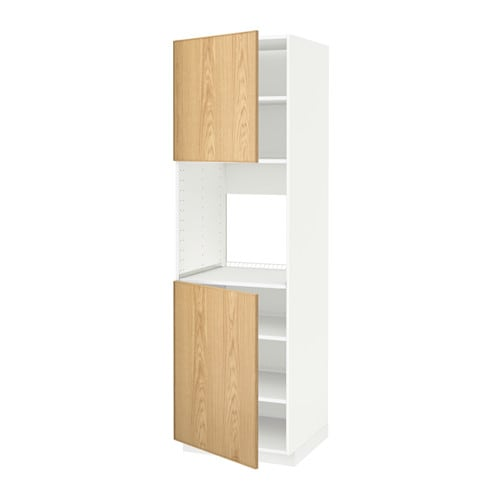 Metod mobile alto forno 2 ante ripiani bianco ekestad - Ikea ante mobili ...