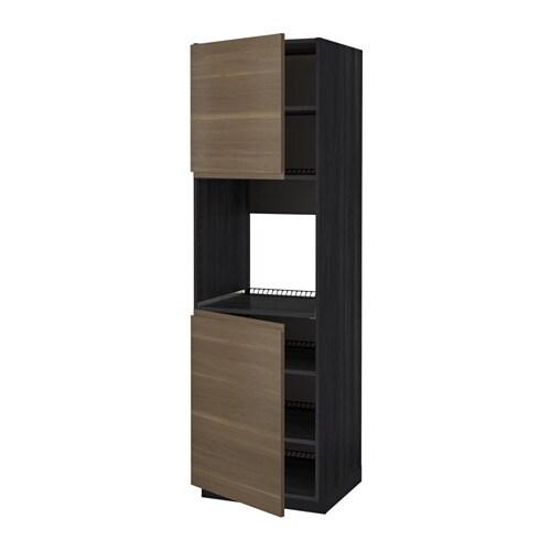 Metod mobile alto forno 2 ante ripiani effetto legno - Ante mobili ikea ...
