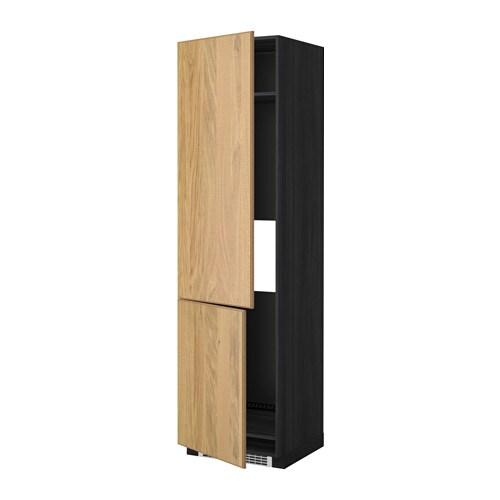 Metod mobile alto frigo congelatore 2ante effetto legno - Mobile frigo incasso ...