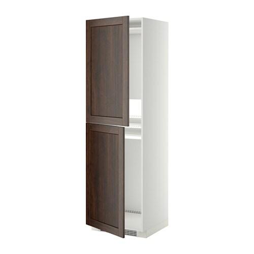 METOD Mobile alto per frigocongelatore  bianco, Edserum