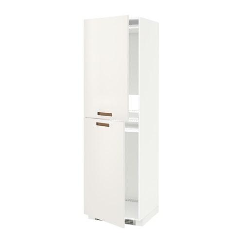 METOD Mobile alto per frigo/congelatore IKEA Puoi adattare lo spazio ...