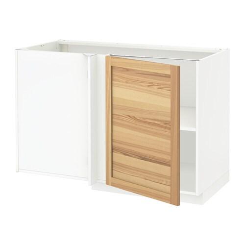 METOD Mobile base angolare con ripiano IKEA Ripiano regolabile ...