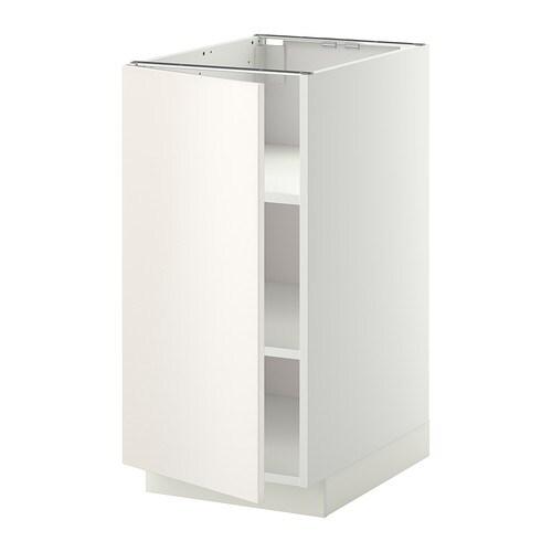 METOD Mobile base con ripiani IKEA Puoi adattare lo spazio alle tue ...