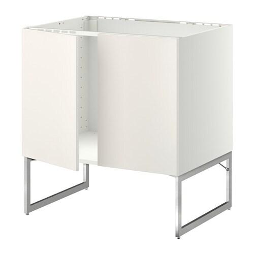 Metod mobile base per lavello 2 ante veddinge bianco - Mobili per lavello ...