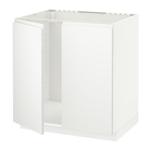 Metod mobile base per lavello 2 ante bianco voxtorp - Ikea mobile lavello ...