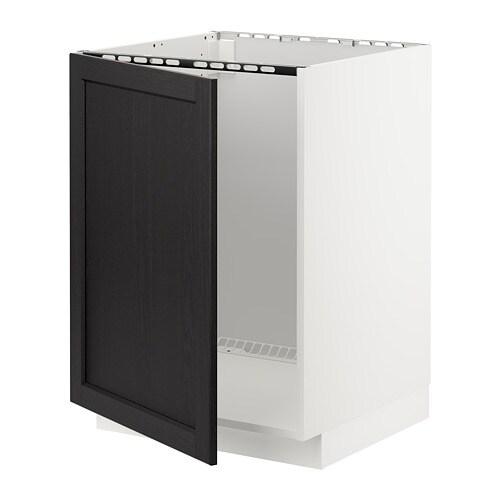 METOD Mobile base per lavello - bianco, Veddinge bianco - IKEA