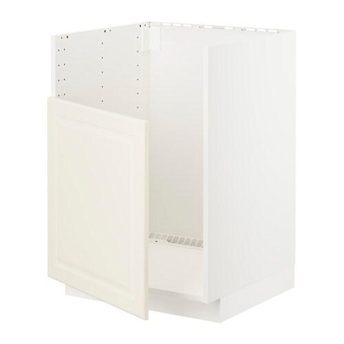 METOD Mobile base per lavello BREDSJÖN - bianco, Bodbyn bianco ...