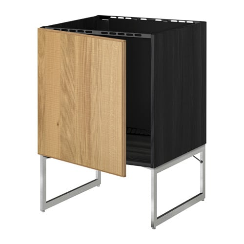 Metod mobile base per lavello effetto legno nero hyttan - Mobile trofast ikea ...