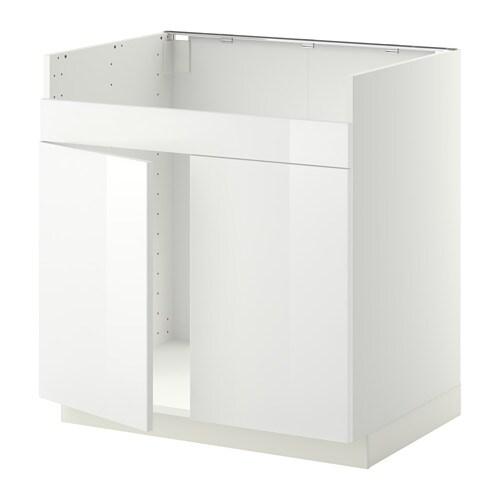 Metod mobile base per lavello 2vas domsj bianco - Ikea mobile lavello ...