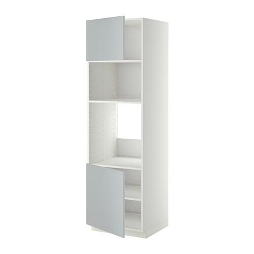 Metod mobile forno micro 2 ante ripiani bianco - Ikea ante mobili ...