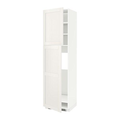 Metod mobile frigo 2 ante bianco s vedal bianco - Mobile frigo incasso ...