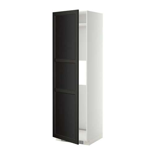 METOD Mobile frigo o congelatoreanta  bianco, Laxarby