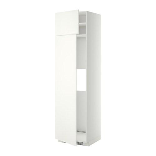 Metod mobile frigo o congelatore 2 ante bianco h ggeby - Mobile frigo incasso ...