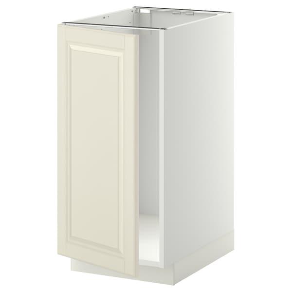 METOD Mobile lavello/raccolta differ., bianco/Bodbyn bianco sporco, 40x60 cm
