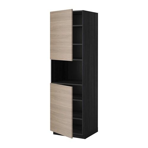 Metod mobile microonde 2 ante ripiani effetto legno - Ikea ante mobili ...
