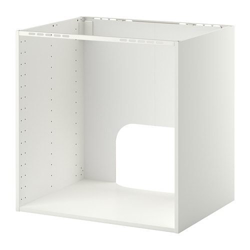 Metod mobile per forno lavello incasso bianco 80x60x80 cm ikea - Ikea elettrodomestici da incasso ...