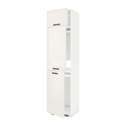 Metod mobile per frigo congelatore 3 ante bianco m rsta - Mobile frigo incasso ...