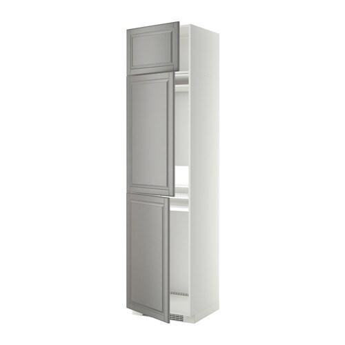 Metod mobile per frigo congelatore 3 ante bianco bodbyn grigio ikea - Ikea elettrodomestici da incasso ...