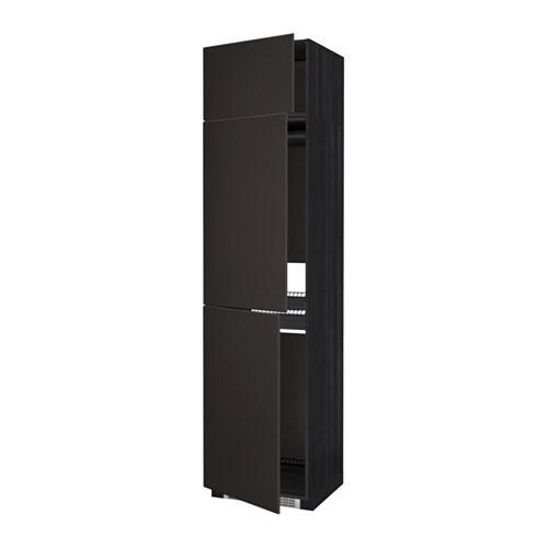 Metod mobile per frigo congelatore 3 ante effetto legno - Mobile frigo incasso ...