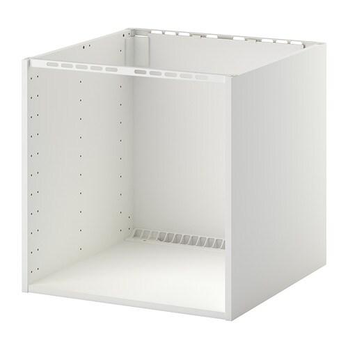 METOD Mobile x piano cottura inc./lavello - bianco, 60x60x60 cm - IKEA
