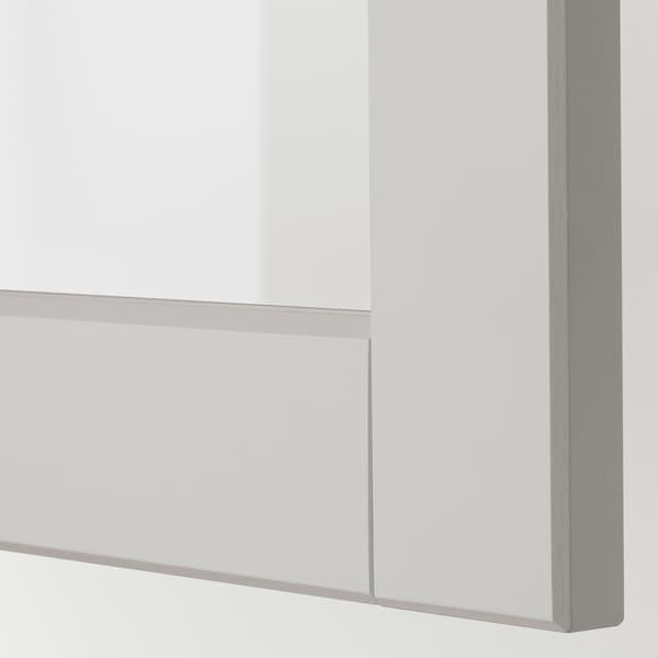 METOD Pensile angol access girev/ant vetr, bianco/Lerhyttan grigio chiaro, 68x60 cm