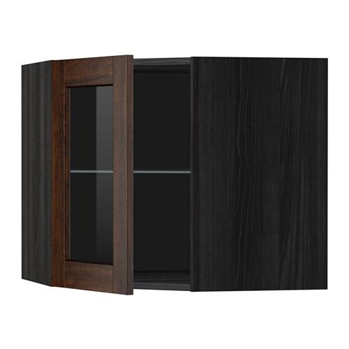 Metod pensile angolare ripiani anta vetro effetto legno - Ikea portacandele vetro ...