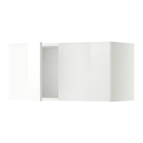 METOD Pensile con 2 ante - bianco, Ringhult lucido bianco - IKEA