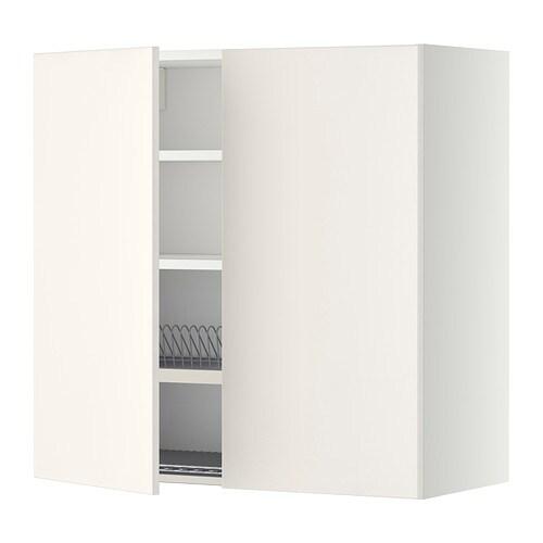 metod pensile con scolapiatti 2 ante bianco veddinge. Black Bedroom Furniture Sets. Home Design Ideas