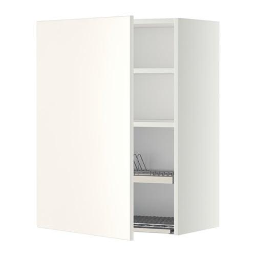 METOD Pensile con scolapiatti - bianco, Veddinge bianco, 60x80 cm ...