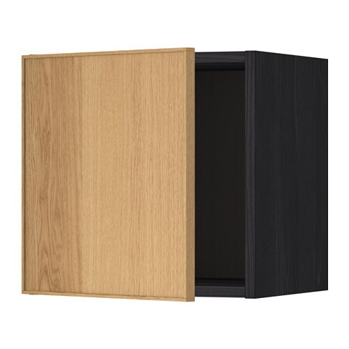 metod pensile effetto legno nero ekestad rovere 40x40 cm ikea. Black Bedroom Furniture Sets. Home Design Ideas