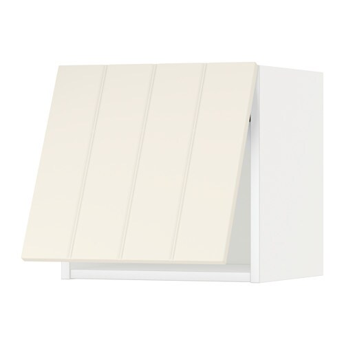 Metod pensile orizzontale bianco hittarp bianco sporco 40x40 cm ikea - Pensile bagno orizzontale ...