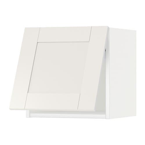 Metod pensile orizzontale bianco s vedal bianco 40x40 cm ikea - Pensile bagno orizzontale ...