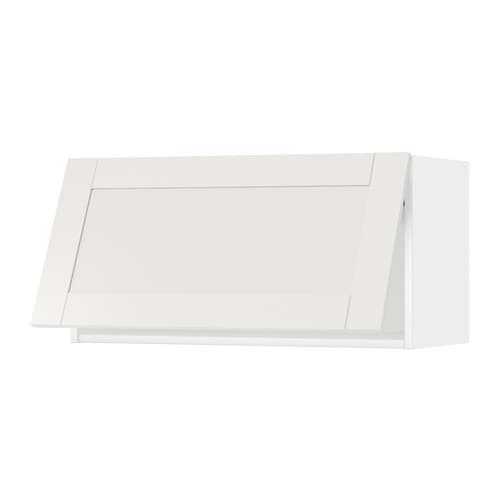 Metod pensile orizzontale bianco s vedal bianco 80x40 cm ikea - Pensile bagno orizzontale ...
