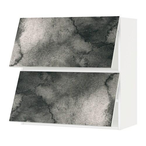 Metod pensile orizzontale con 2 ante bianco kalvia - Pensile bagno orizzontale ...