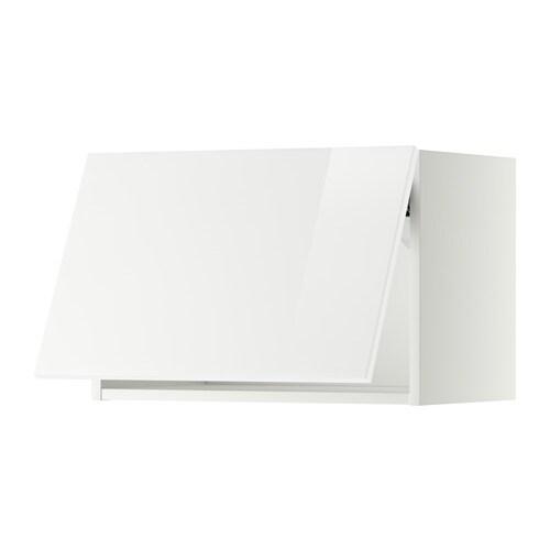 Metod pensile orizzontale bianco ringhult lucido bianco 60x40 cm ikea - Pensile cucina ikea ...