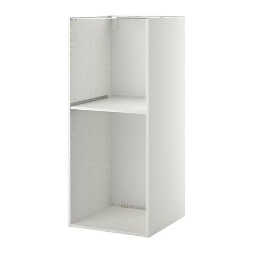 Metod struttura mobile per frigo forno bianco 60x60x140 cm ikea - Frigo encastrable ikea ...